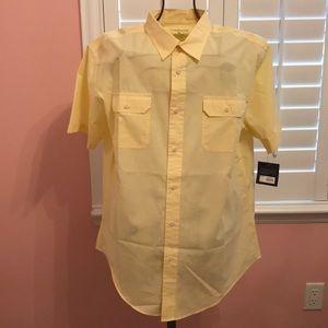 Croft&Barrow NWT SS Button-up Shirt XL